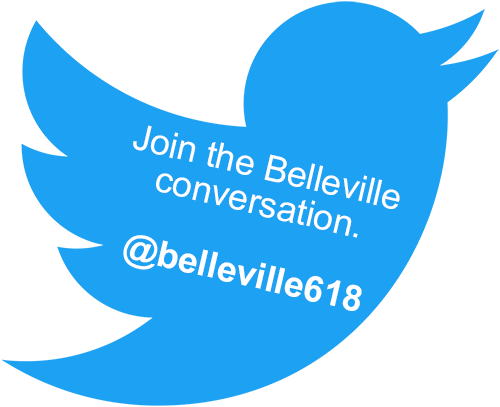 Tweet about Belleville at belleville618